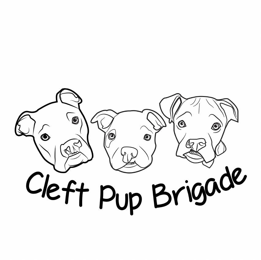 Cleft Pup Brigade Rescue Relaxed Tee - Ruff Life Rescue Wear