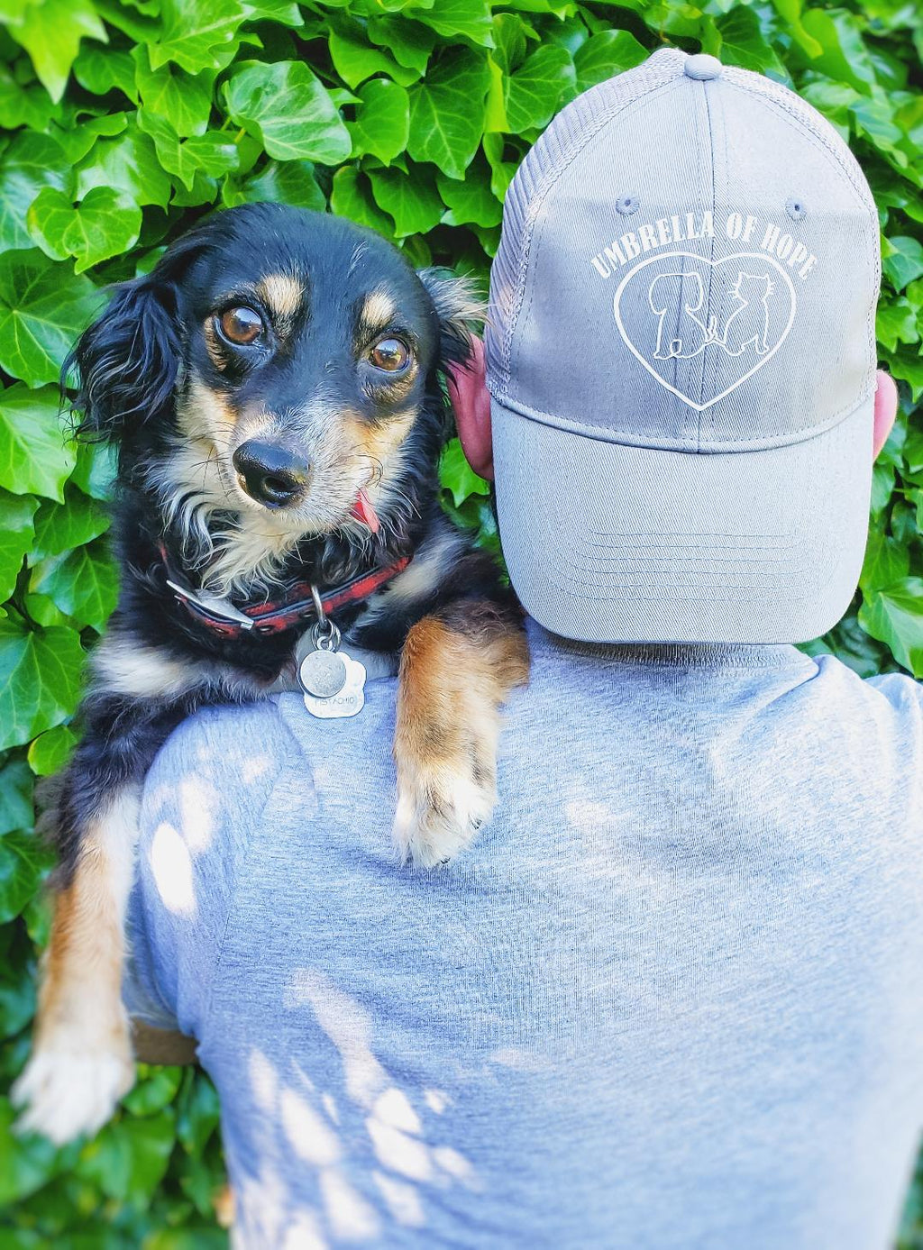 Umbrella of Hope Cap - Ruff Life Rescue Wear