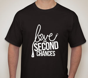 Love and Second Chances Unisex Tee - Ruff Life Rescue Wear