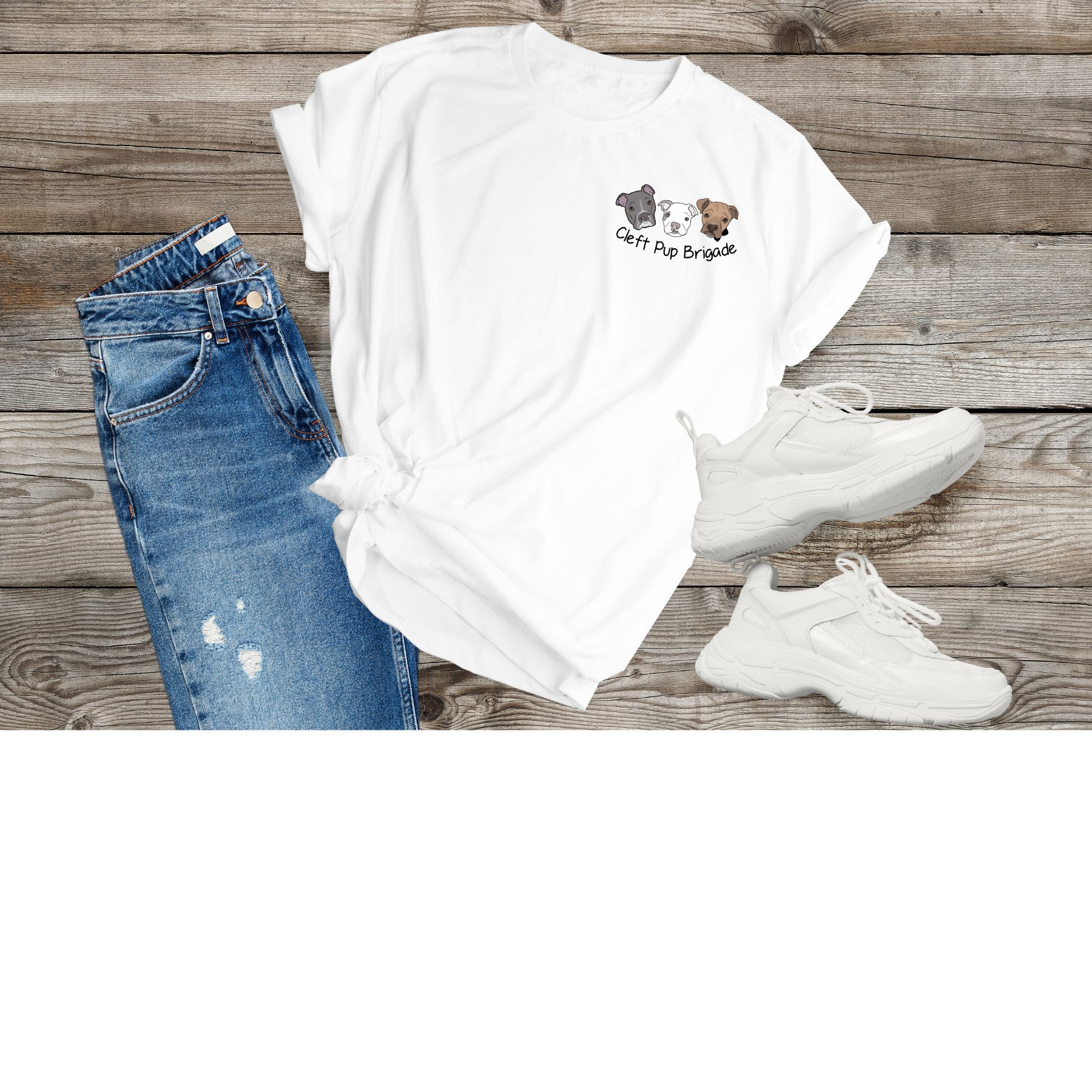 New Cleft Pup Brigade Unisex (small logo) - Ruff Life Rescue Wear