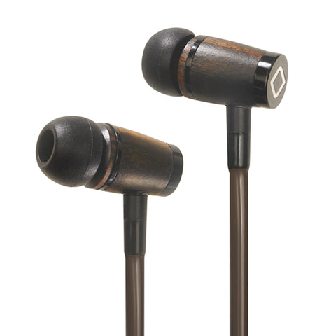 A6 Stereo Earphone - Wood