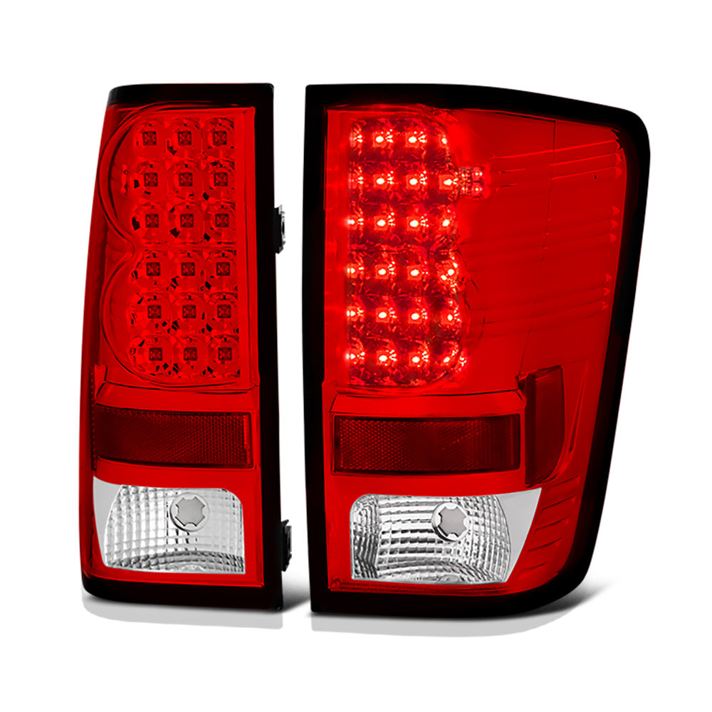 NEW Taillamp Taillight Pair Set Both for 04-12 Nissan Titan truck