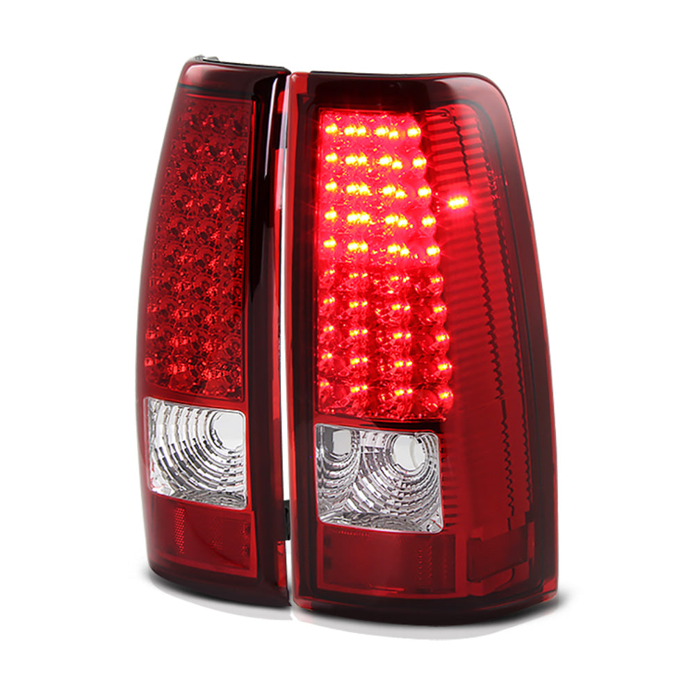 Rosso Red Led Tail Lights