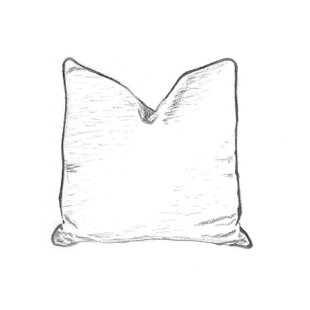 Custom Pillow with Cording