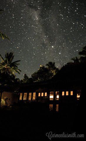 Javanese Joglo and the Milky Way