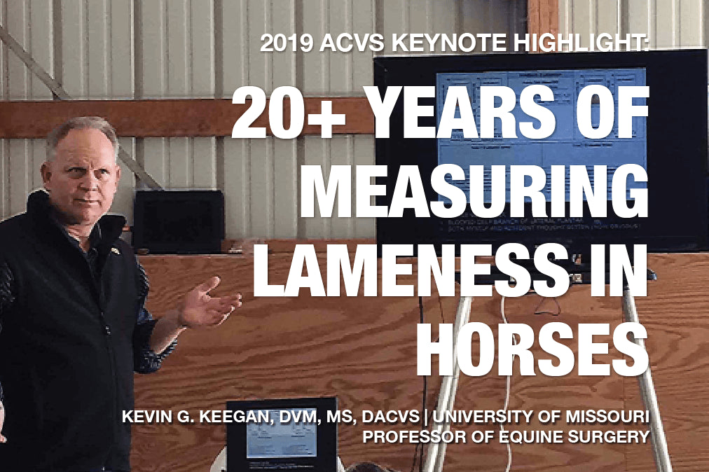 2019 ACVS Keynote Highlight: 20+ Years of Measuring Lameness in Horses