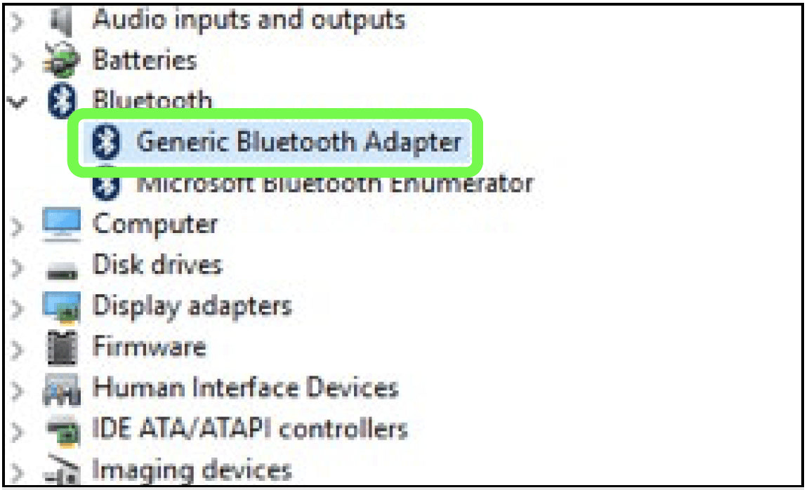 FAQ: How to Check For Proper Driver Settings for Sena UD100 Bluetooth Adapter