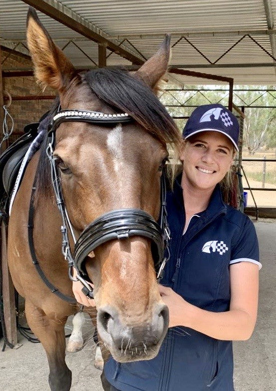 Margot Sims of  Equus Equine, Australia