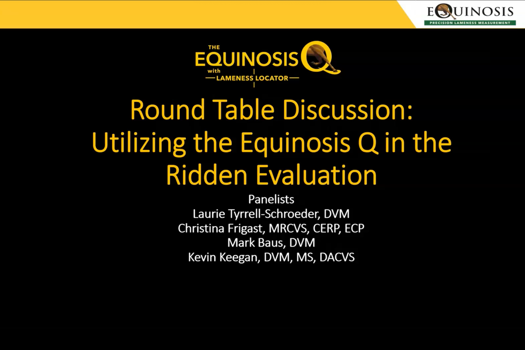 Round Table: Using the Q in Ridden Evaluations