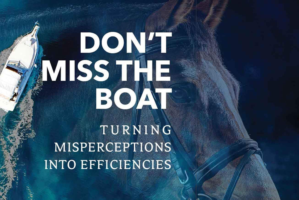 Don't Miss the Boat: Turning Misperceptions into Efficiencies