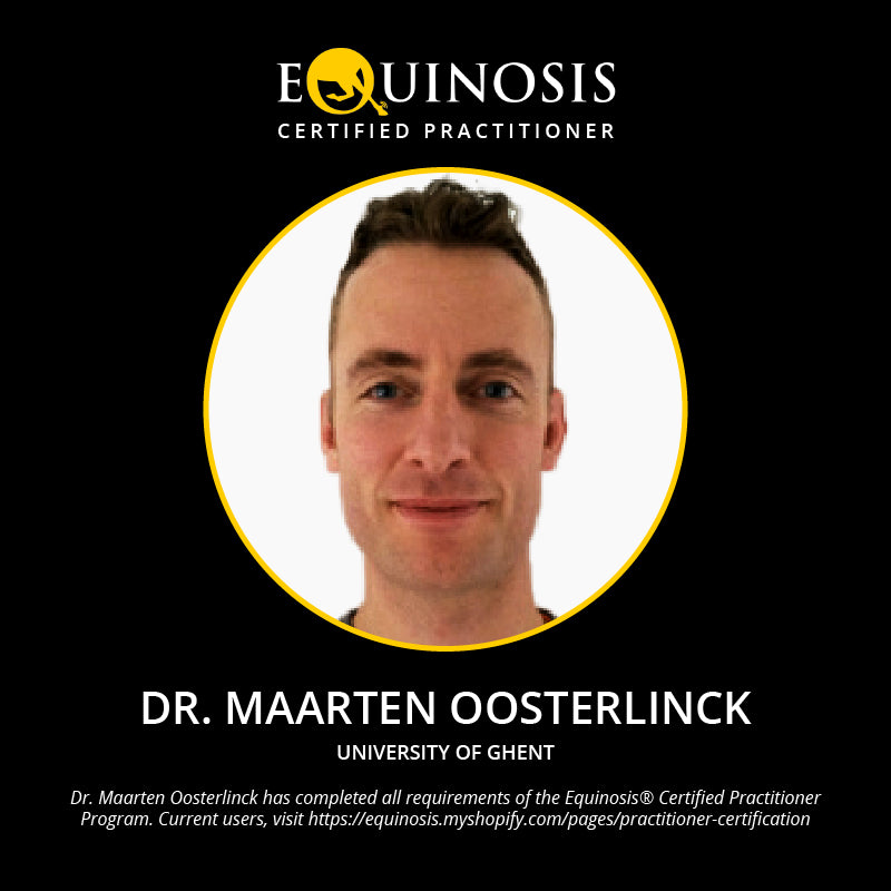 Maarten Oosterlinck, DVM, PhD, Dipl. ECVSMR, Dipl. ECVS of the University of Ghent, Belgium