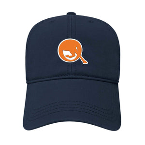 Equinosis Equinosis Classic Q Logo Hat - Auburn University Blue & Orange