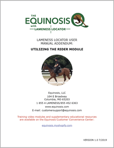 Equinosis Information Rider Module Manual