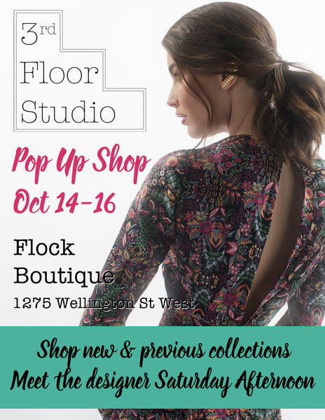 Oct 14-16: 3rd Floor Studio Pop Up Shop!