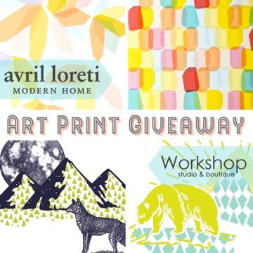 Art Print Giveaway! Contest closes Thursday, June 23rd