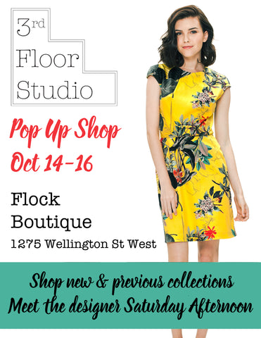 3rd Floor Studio Pop Up Shop at Flock Boutique