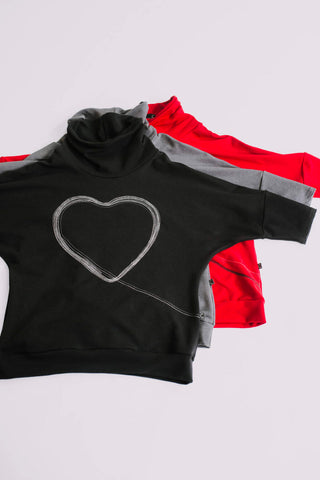 Beatrice Heart Sweater