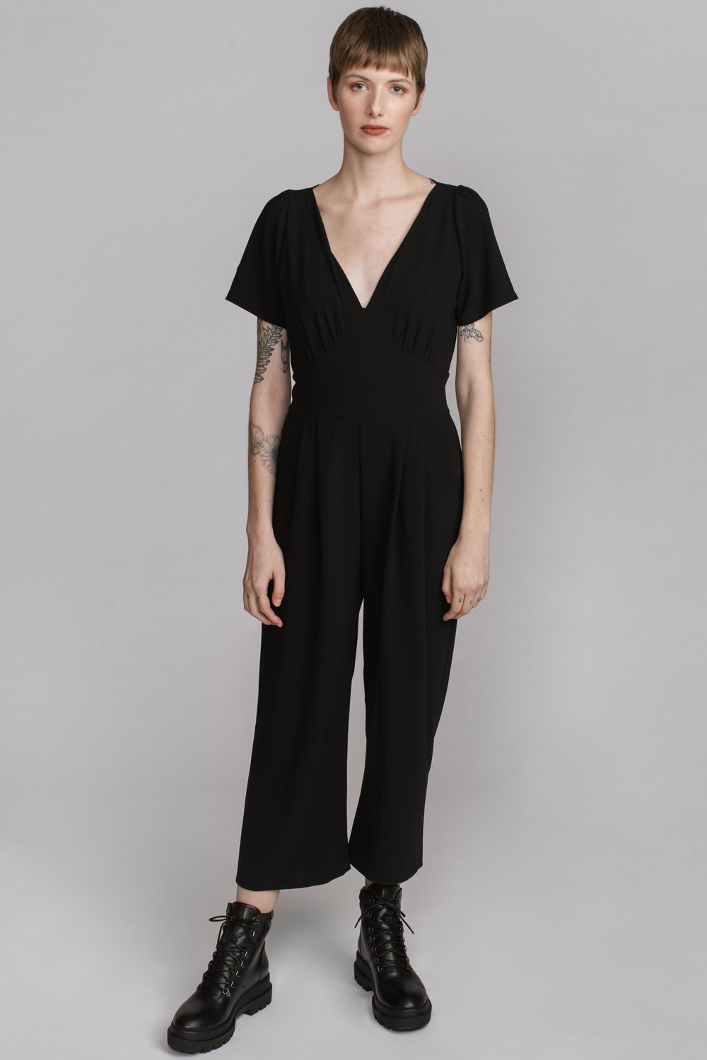 Troi Jumpsuit- Charcoal or Jade