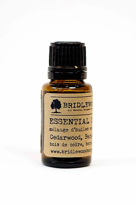 BRIDLEWOOD SOAPS Essential Oil Blends - Cedarwood, Bergamot, & Lavender