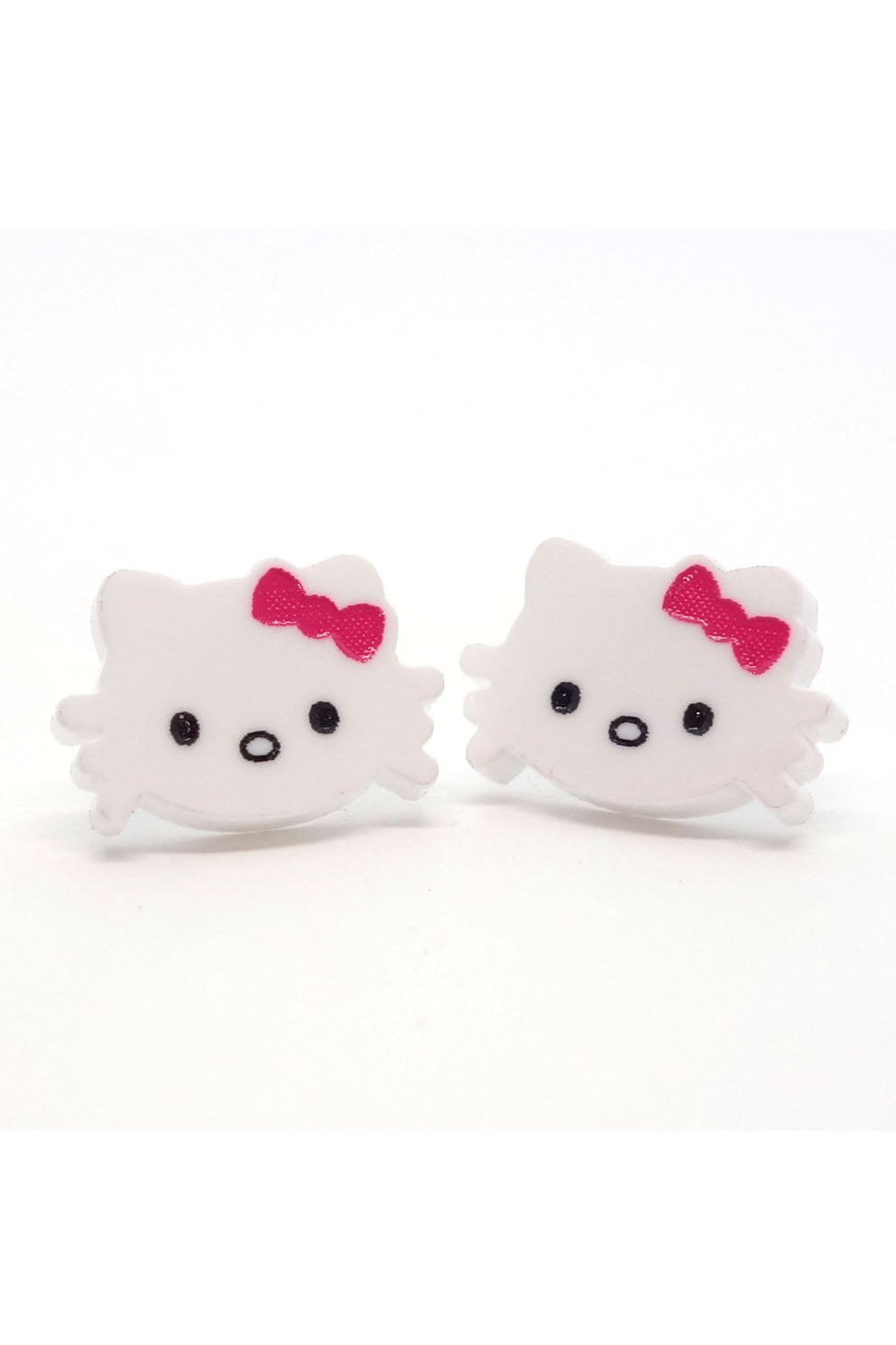 Lili0485 Hello Kitty Acrylic Earrings