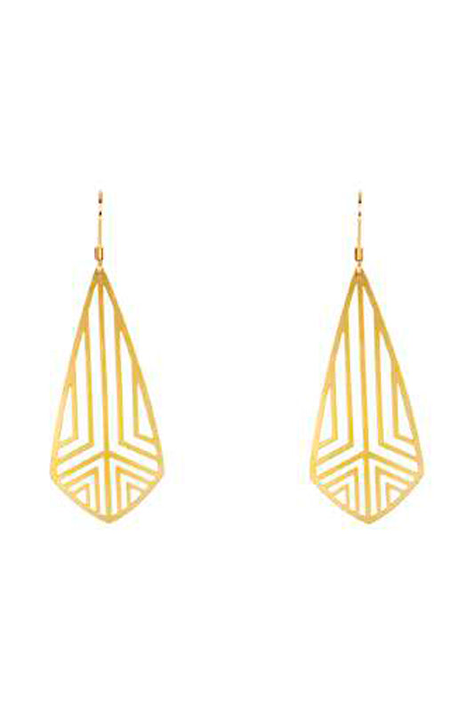 BP-20007/Diamond shaped dangle earring