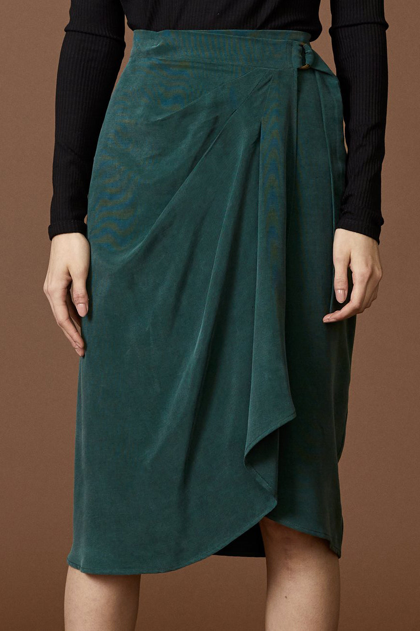 COKLUCH Hydra Skirt in Emerald FW2020/2021