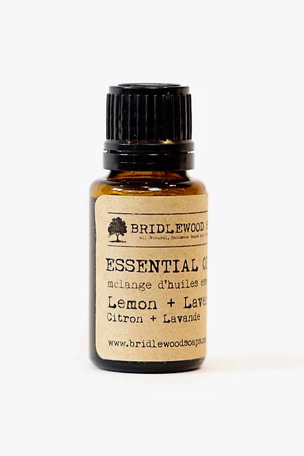 BRIDLEWOOD SOAPS Essential Oil Blends - Lemon & Lavender