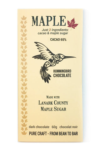 Maple 65% Dark Chocolate Chocolate Bar