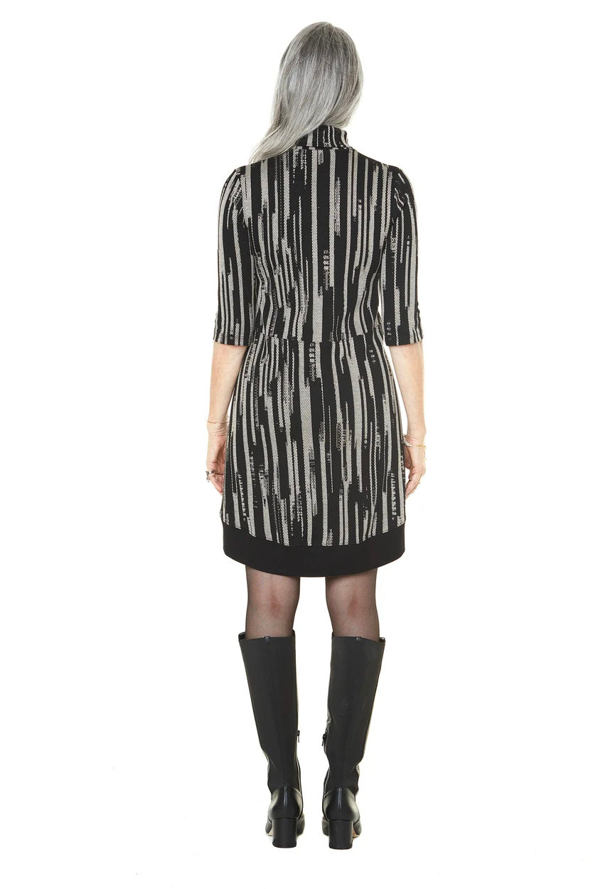 Mathilde Dress Annie 50 FW 20/21  Black and White Back View