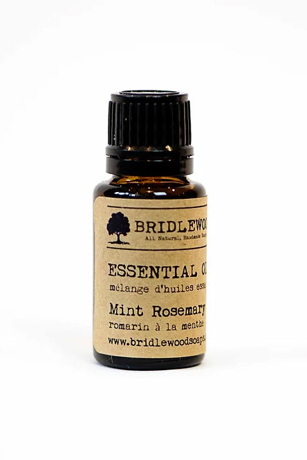 BRIDLEWOOD SOAPS Essential Oil Blends - Mint Rosemary