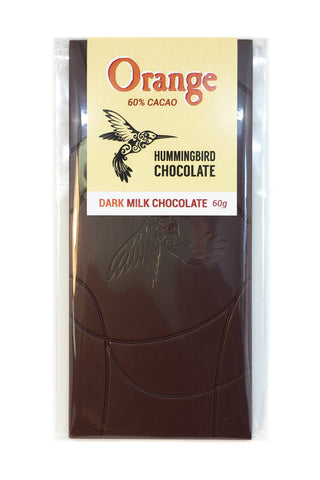 Orange Milk  60% Chocolate Bar