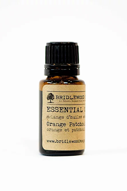 BRIDLEWOOD SOAPS Essential Oil Blends - Orange Patchouli