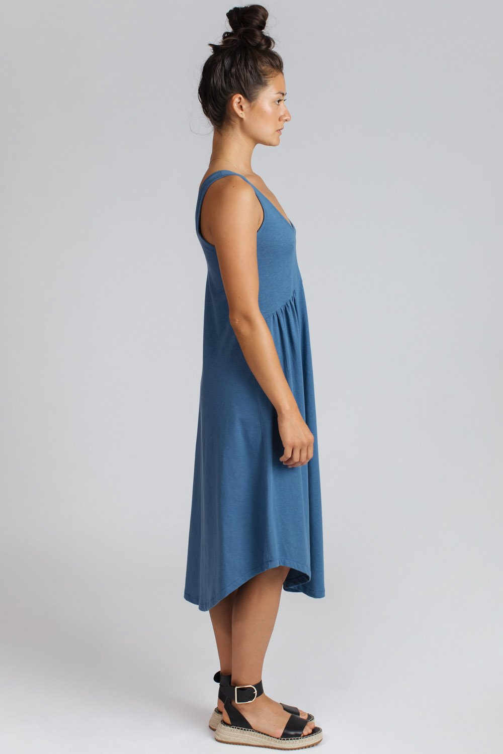 Marseille Dress - Denim