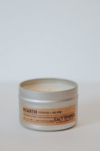 Hearth Candle - Firewood + Bay Rum