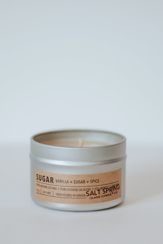 Sugar Candle - Vanilla + Sugar + Spice