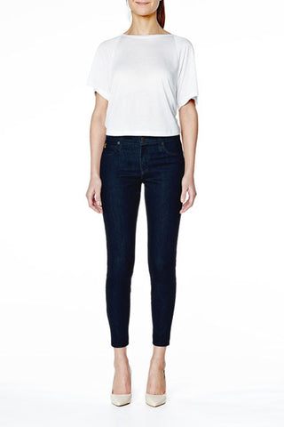 SWP1305 High Rise Ankle Second Denim Yoga Jeans in Indigo. The perfect jeans sizes 24-34