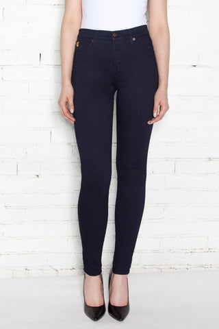 SWP1446 Yoga Jeans High Rise Ankle Travel Jeans in Waterloo - Front View