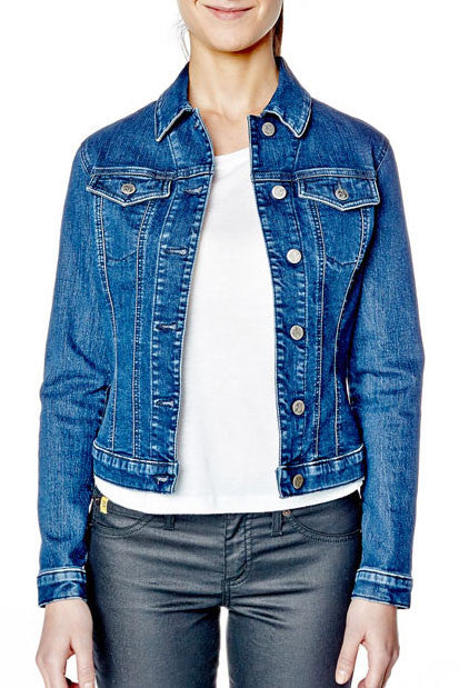 Second Denim Classic Jean Jacket SWV024 in sizes XS-XL. Made in Canada