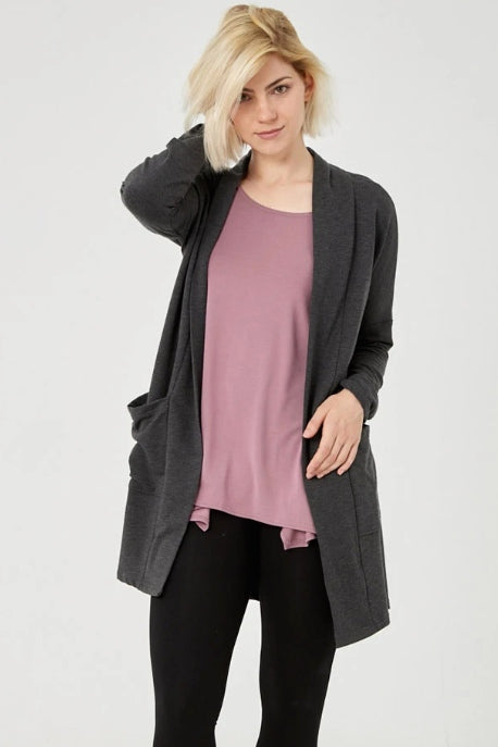 ADVIKA Spring Courtney Cardigan in Charmix (front view) FW2020/2021