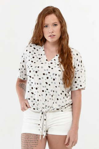 9480 Knotted Blouse