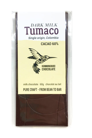 Tumaco 60% Milk Chocolate Bar