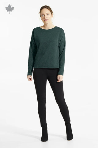 Forest Green BAI Top, Front view, FIG Fall/Winter 2020/2021, Sizes XS - XL