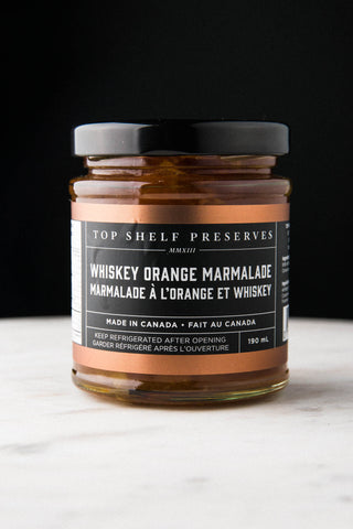 Whiskey Orange Marmalade - available only for curbside or in store pick up