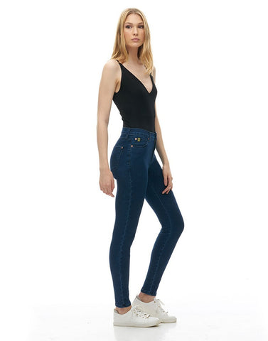 High Rise Skinny Ankle Yoga Jean -  Waterloo (Travel Jeans)