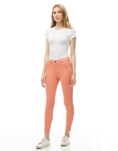 Second Denim Yoga Jeans Classic Rise Skinny, Magnolia, sizes 25-32, made in Canada, style 1686-R27