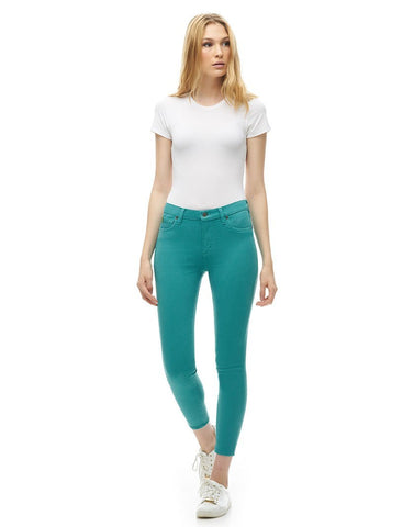 Second Denim Yoga Jeans Classic Rise Skinny, Rachel Style, Orchid, 27 inch inseam, sizes 25-32, made in Canada, style 1686-R27