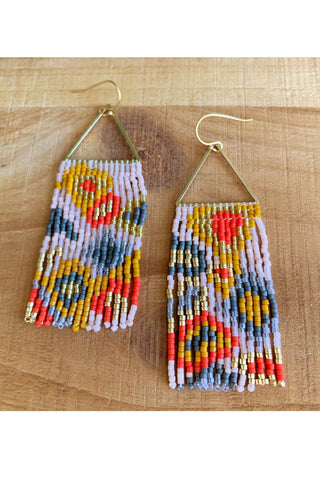 Val Fringe Earrings - MADE TO ORDER