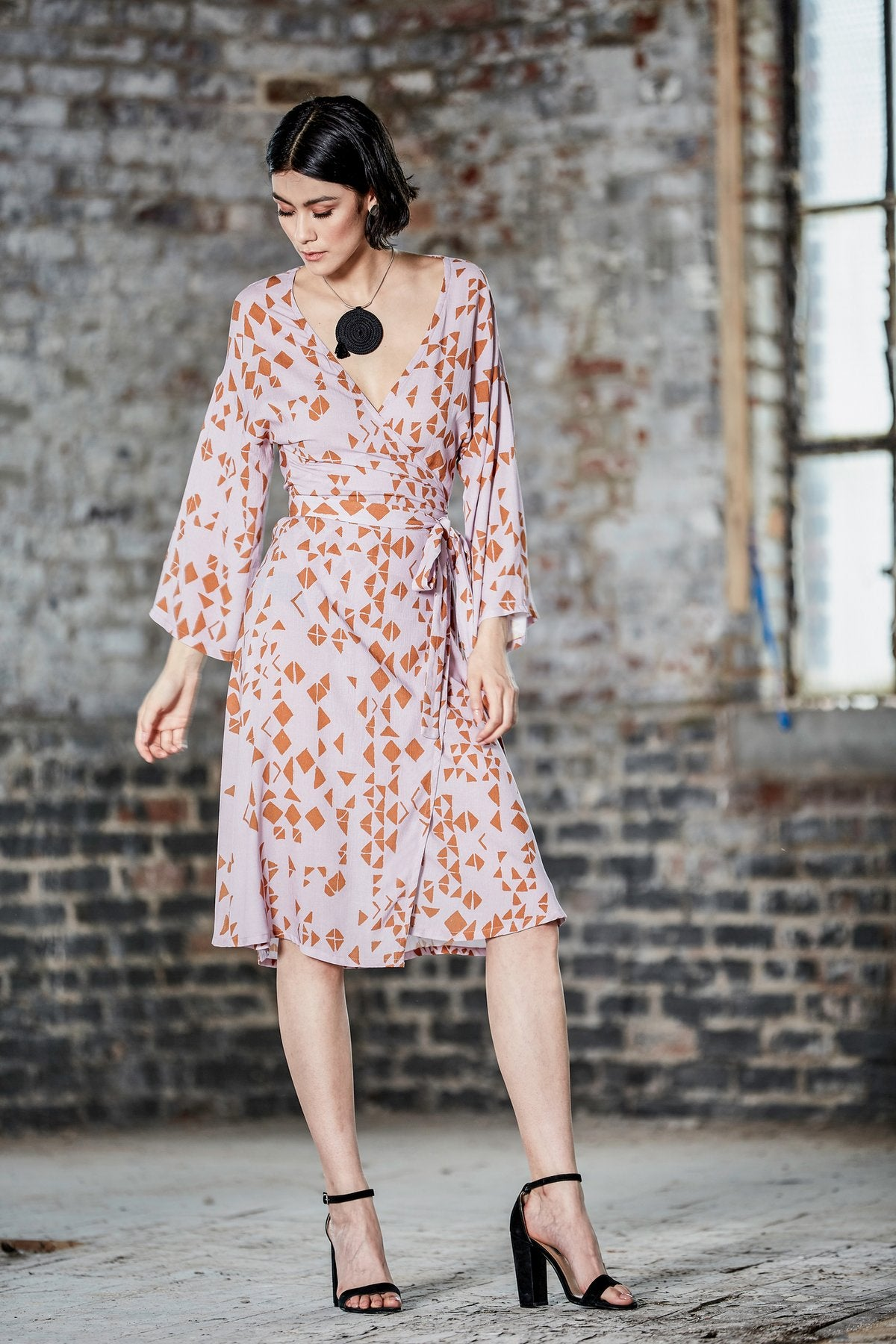 Adelfa Wrap Dress