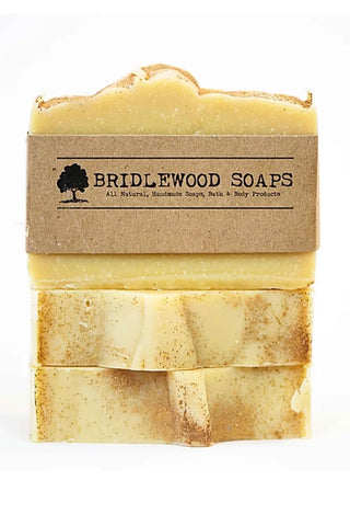 BRIDLEWOOD SOAPS Apple Cider Soap Bar (stacked)