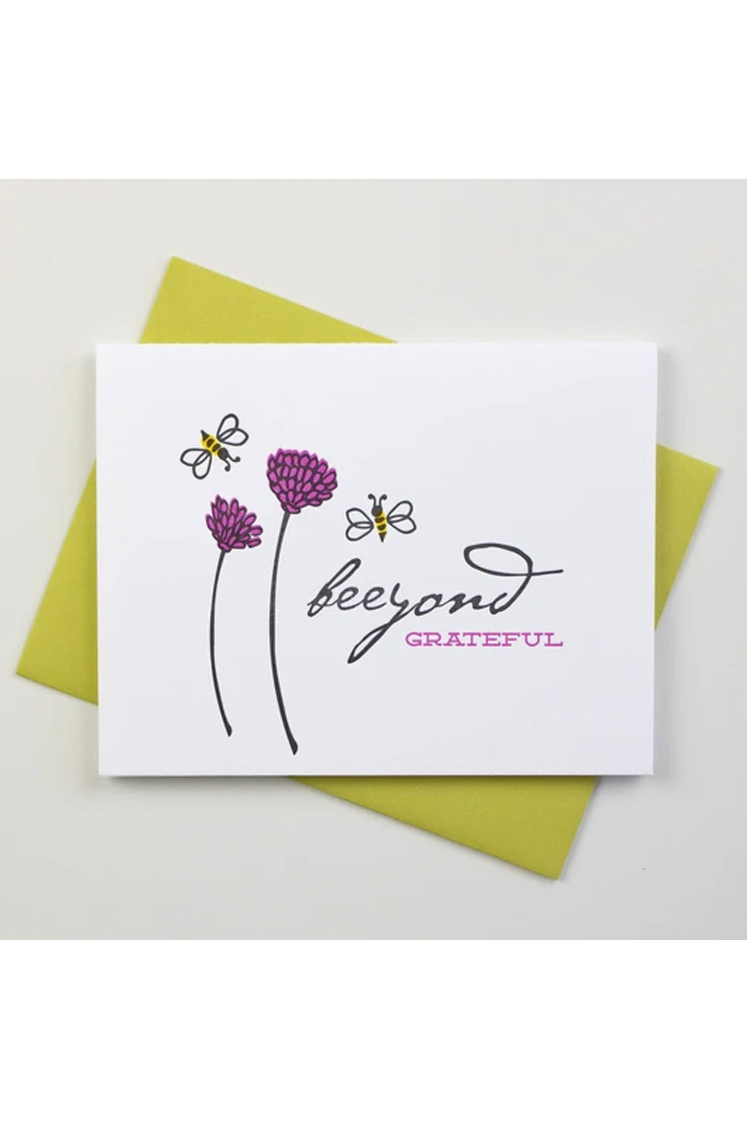 Beeyond Grateful Inkwell Originals Card